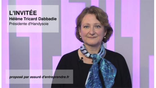 Hélène Tricard-Dabbadie, Présidente d'Handysoie