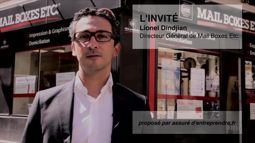Lionel Dindjian, Directeur de Mail Boxes