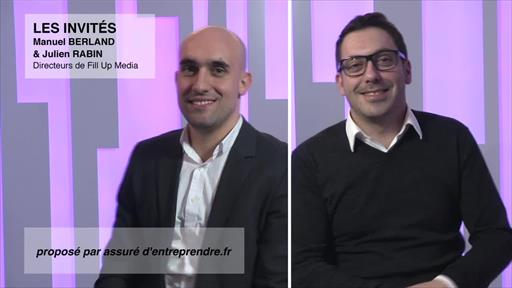 Manuel Berland et Julien Rabin, Fill Up Media